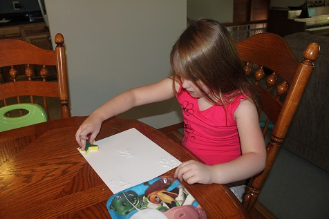 Fourth of July Watercolor Activity
