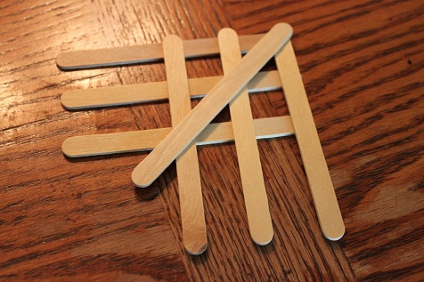 Popsicle Stick Fish