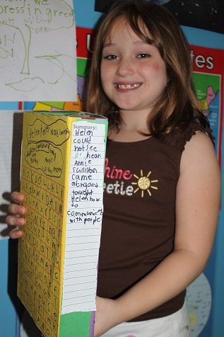 Our Crafts N Things  Blog Archive  Helen Keller Book Report