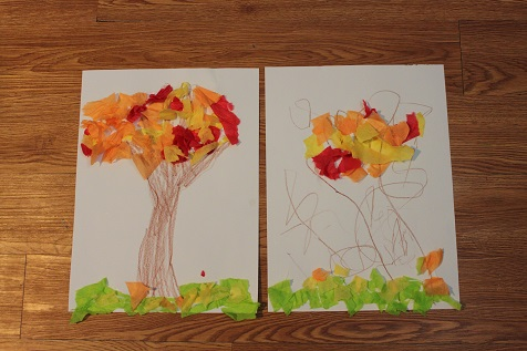 Fall Tree Craft