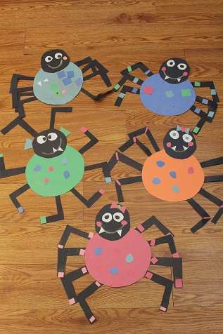 preschool spider art our crafts n things 187 298
