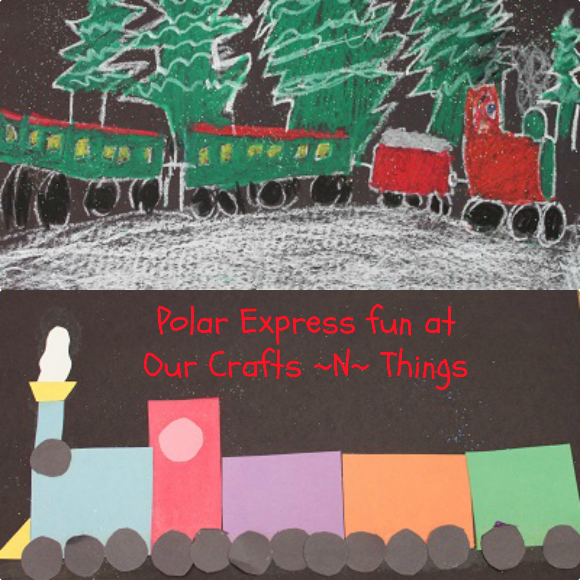 Polar Express Crafts