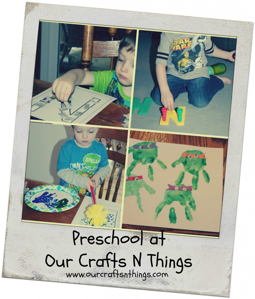 Preschool at Our Crafts N Things