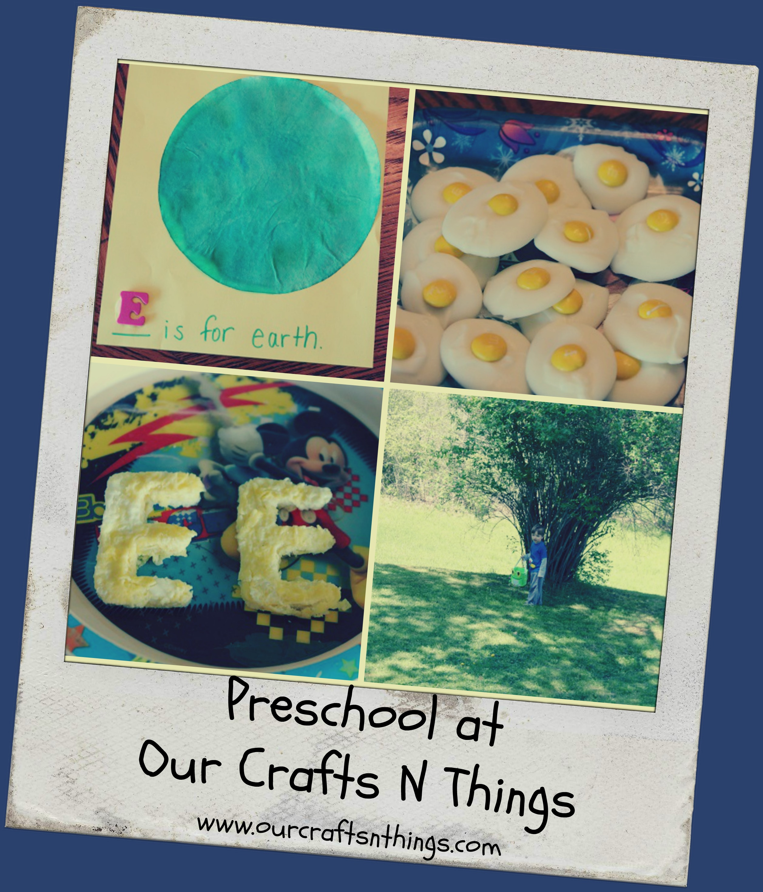 Our Crafts N Things Blog Archive Preschool Letter E
