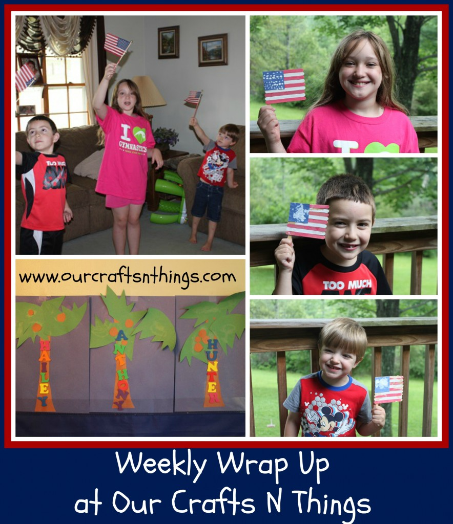 Our Crafts N Things Weekly Wrap Up