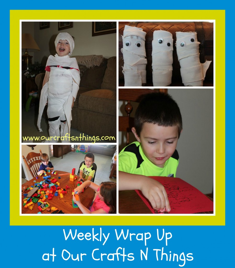 Our Crafts N Things Weekly Wrap Up ~ Scooby Doo theme